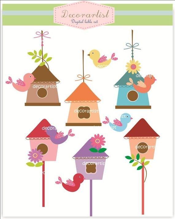 Birdhouse clipart plain.  best bird house