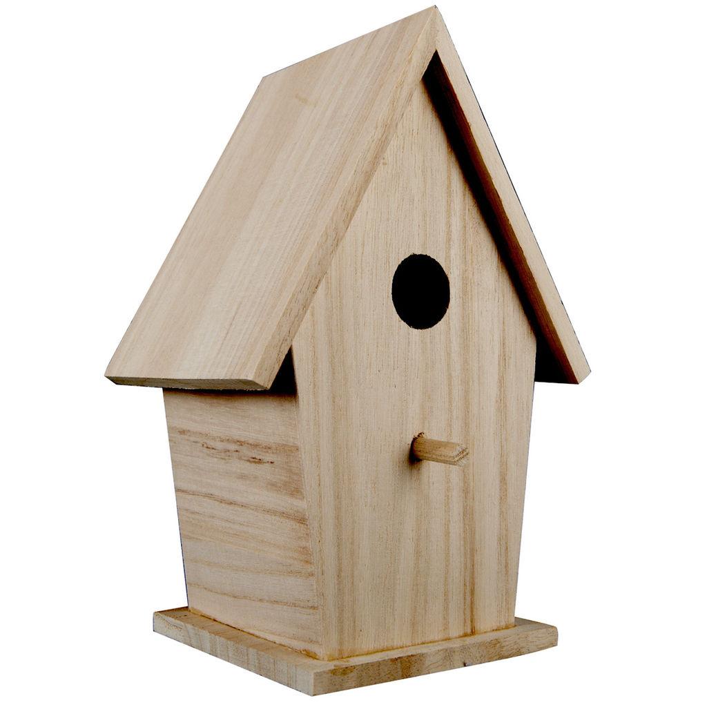 Birdhouse clipart plain. Artminds tall wood