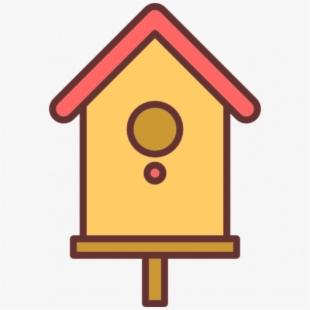 Png bird house cliparts. Birdhouse clipart plain