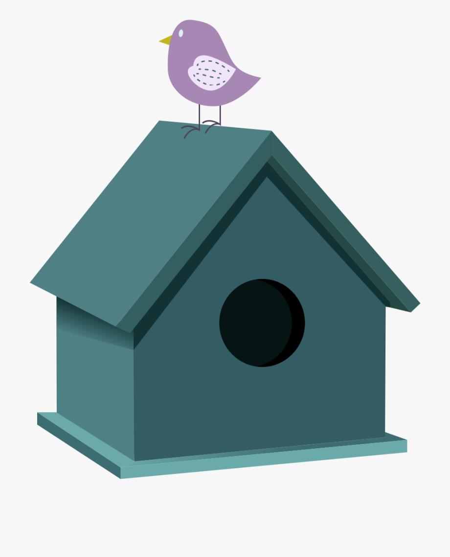 Birdhouse clipart plain. Bird houses encapsulated postscript