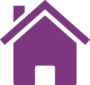 B clipart purple. House pencil and in
