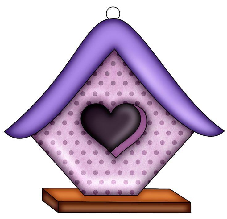 Birdhouse clipart purple.  best bird houses