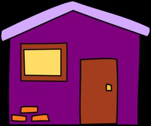 Birdhouse clipart purple. Hosue pencil and in