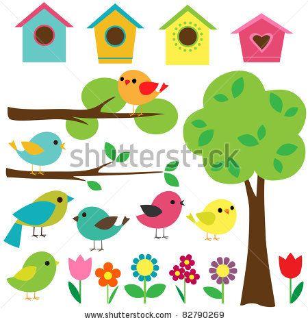 best gd birds. Birdhouse clipart scrapbook