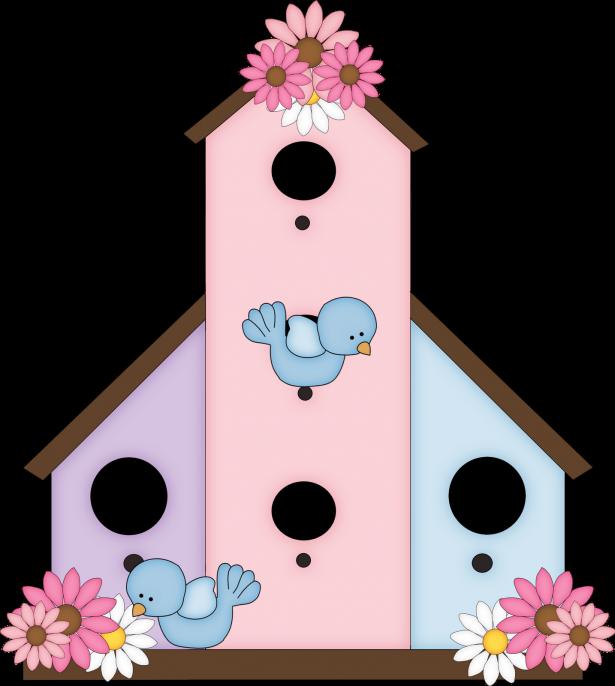 Birdhouse clipart transparent. Cute bird houses for