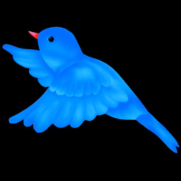Blue bird clip art. Birdhouse clipart transparent