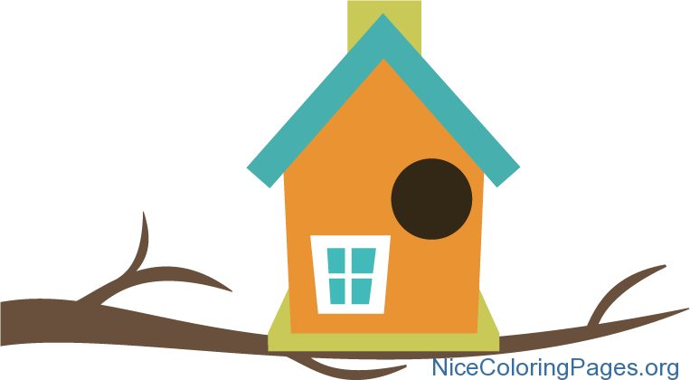 Clipart birds home. Birdhouse cilpart smartness design