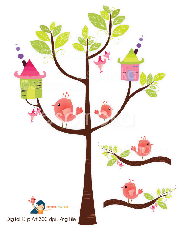 Free download best on. Birdhouse clipart tree clipart