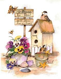 best printable birdhouses. Birdhouse clipart vintage