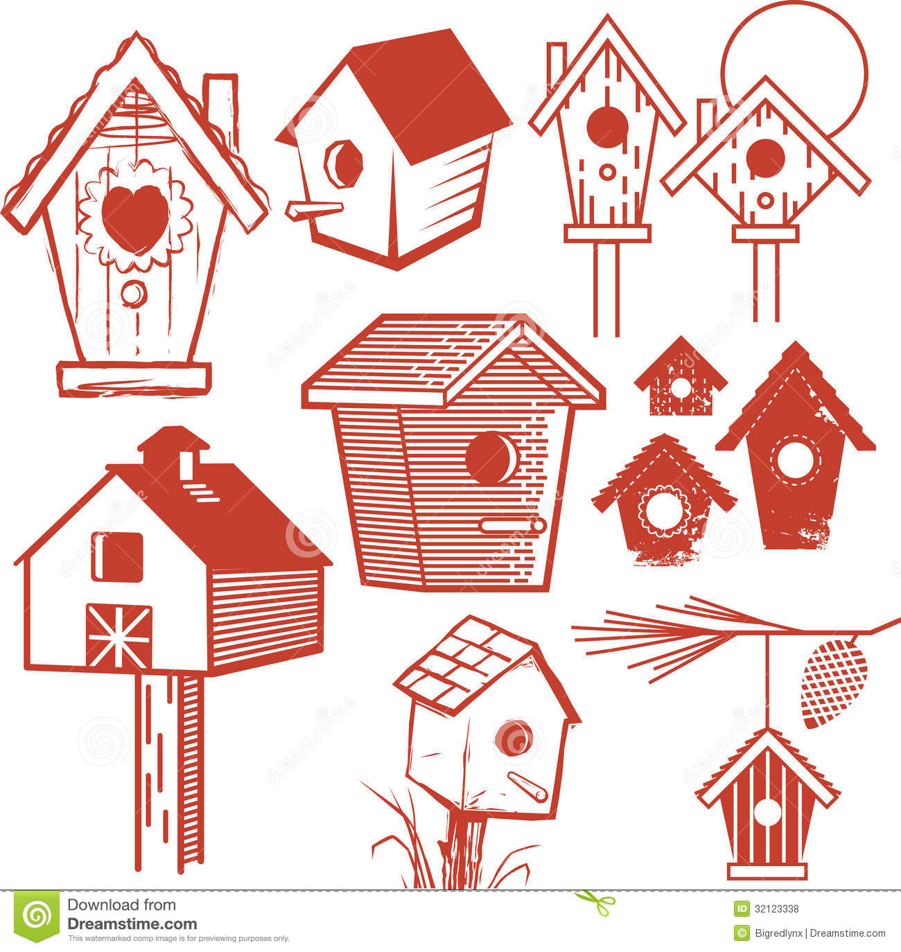 Birdhouse clipart whimsical.  collection of high