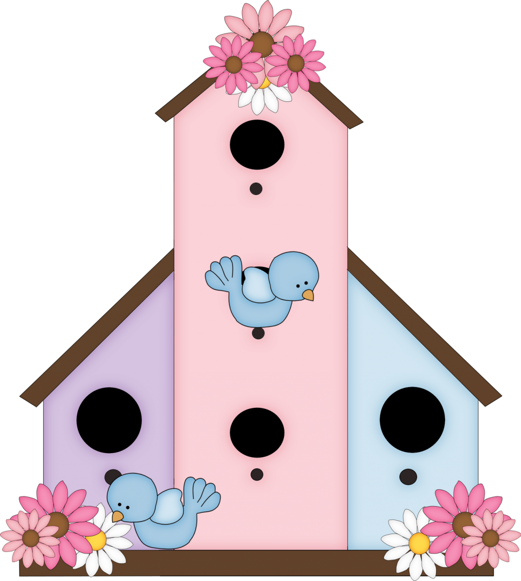 Birdhouse clipart whimsical. Cute free images clipartandscrap