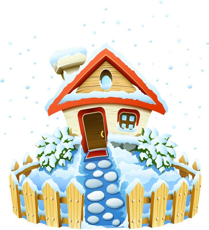 best byggnader images. Birdhouse clipart winter