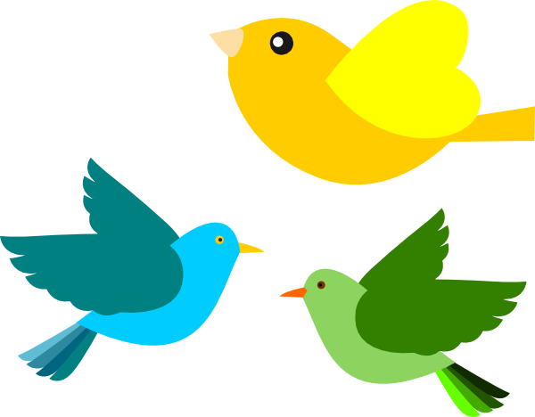Clip art at clker. Birds clipart