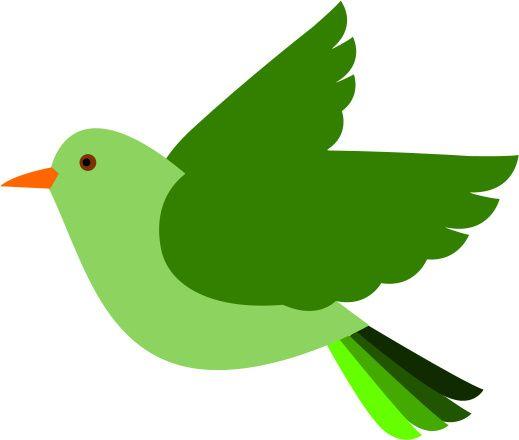 Flying bird kid wood. Birds clipart basic