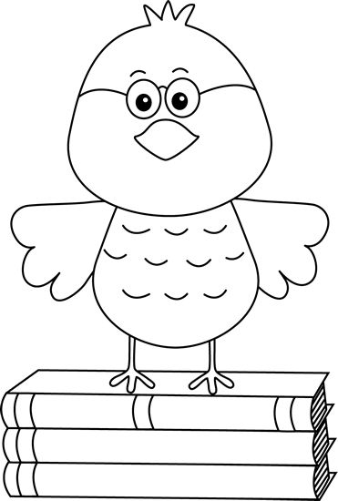 Bird clip art images. Birds clipart black and white