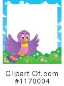 Birds clipart borders. Of bird royalty free