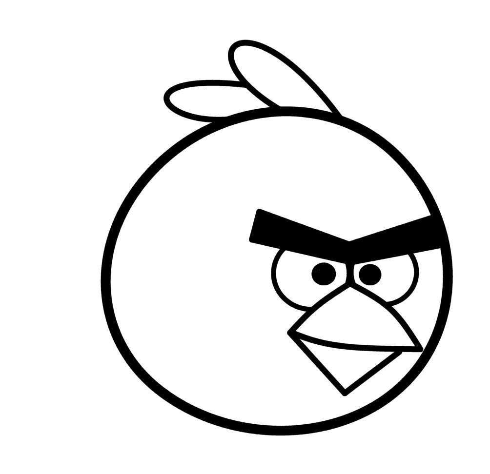 Angry face google search. Birds clipart easy
