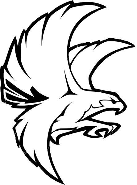 Birds clipart falcons.  best falcon tattoo