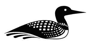 Bird clipart loon. Temporary tattoos military style