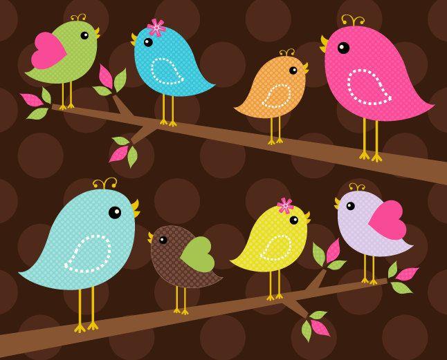 best gd images. Birds clipart magical