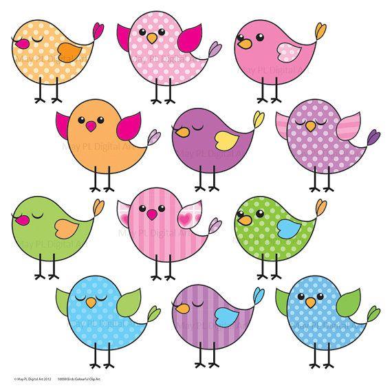 Birds clipart mail. Cute bird clip art