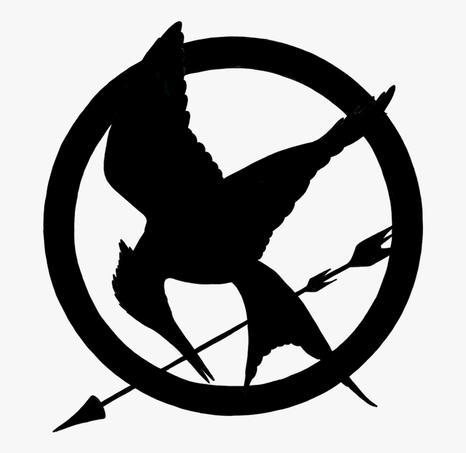 Minimalist with arrow and. Birds clipart mockingjay
