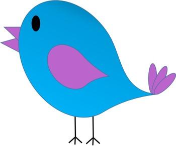 . Birds clipart spring