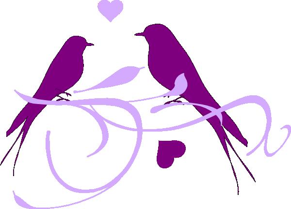 Birds clipart vector. Love bird graphic group