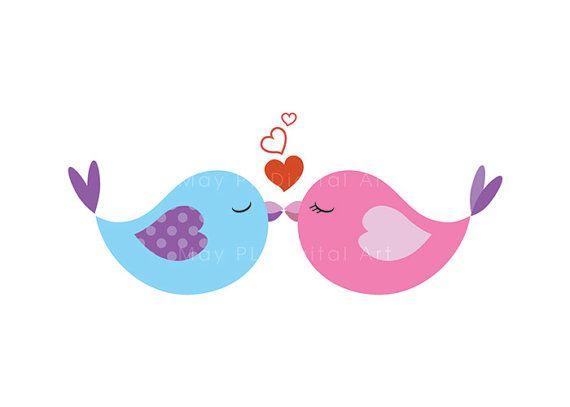 Birds clipart wedding.  best love images