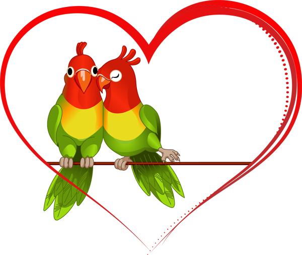 Love birds panda free. Bird clipart wedding
