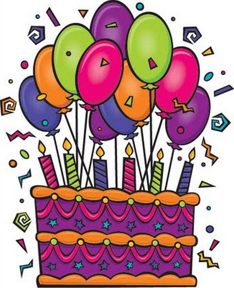 Clip art free download. Birthday clipart