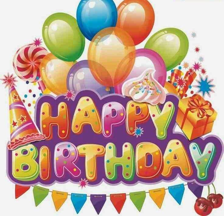 Clip art happy animated. Birthday clipart