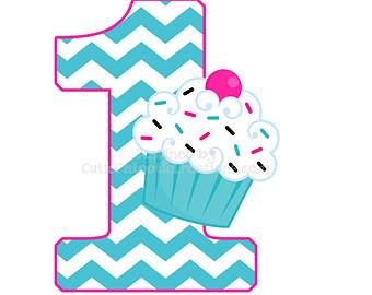 Birthday clipart 1st.  st