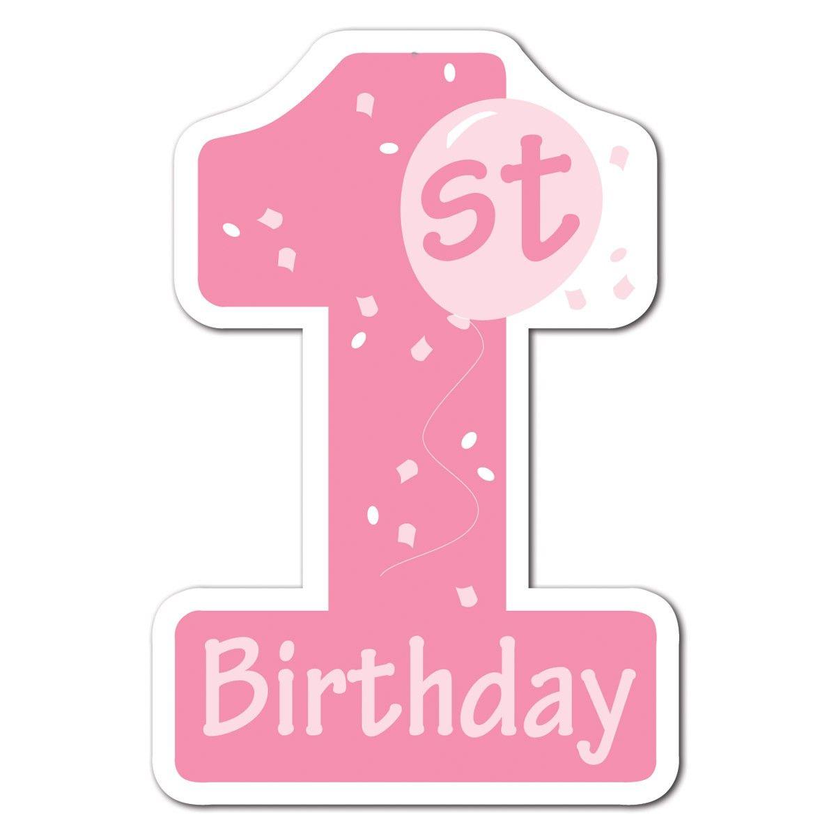 Birthday clipart 1st.  st clipartfest minnie