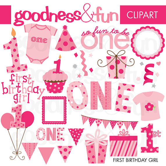 Buy get free first. Birthday clipart 1st