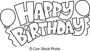 Birthday Clipart Black And White Picture 278829 Birthday Clipart Black And White