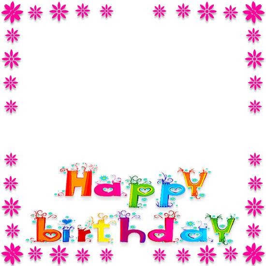 Boarder clipart happy birthday. Free borders border clip