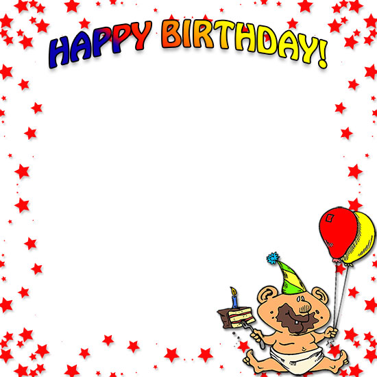 Borders free incep imagine. Boarder clipart happy birthday