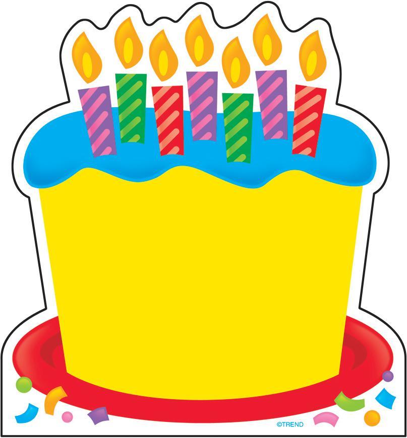 Cake clipart printable. Free happy birthday border