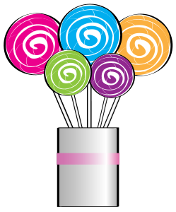 Birthday clipart candy. Bouquet