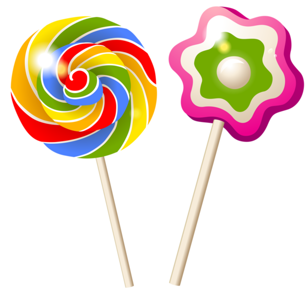 Sucettes dessets clip art. Candy clipart sweet food