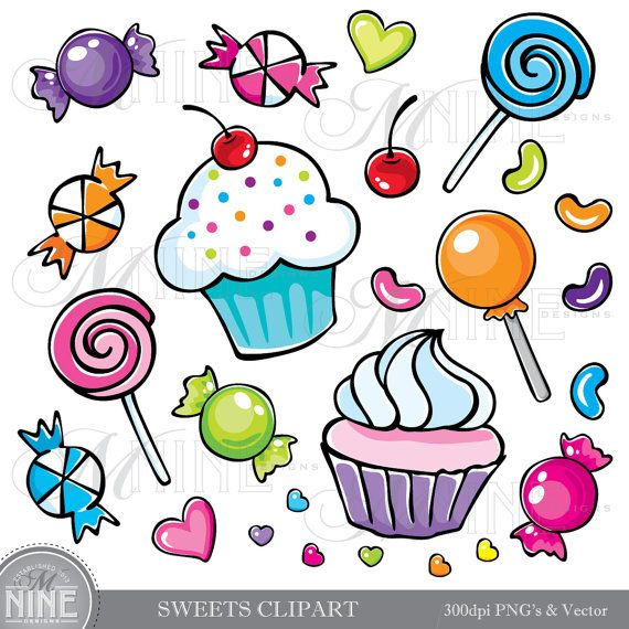 best images on. Birthday clipart candy
