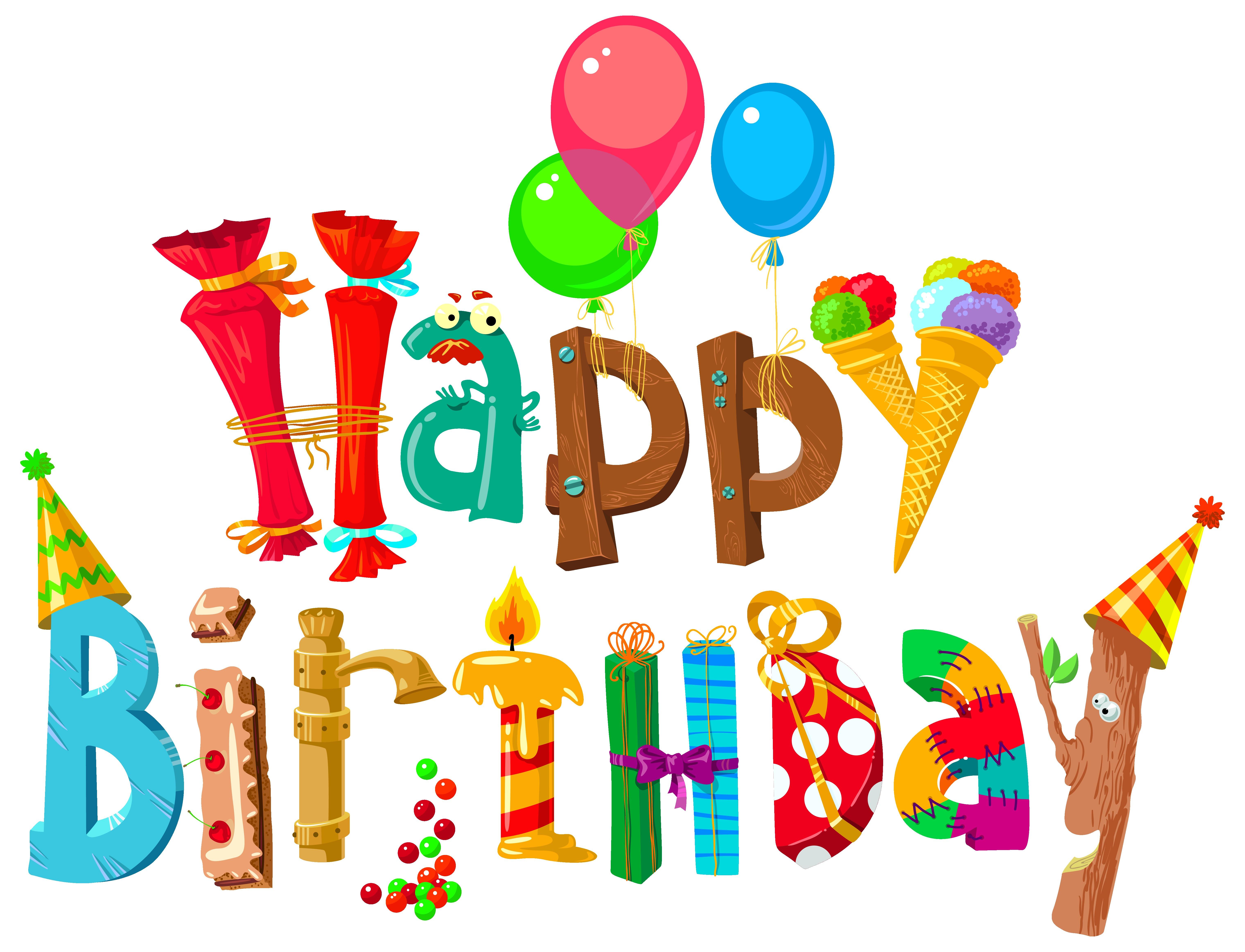 Birthday clipart classy. Free happy clip art