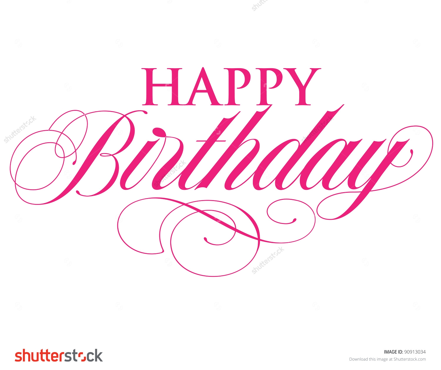 collection of elegant. Birthday clipart classy