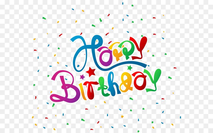 Birthday clipart confetti. Wish greeting card clip