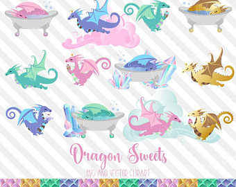 Birthday clipart dragon. Unicorn sweets png vector