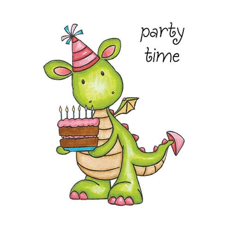 Birthday clipart dragon. Pin by on rocks