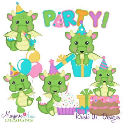 Birthday clipart dragon. Baby svg cutting files