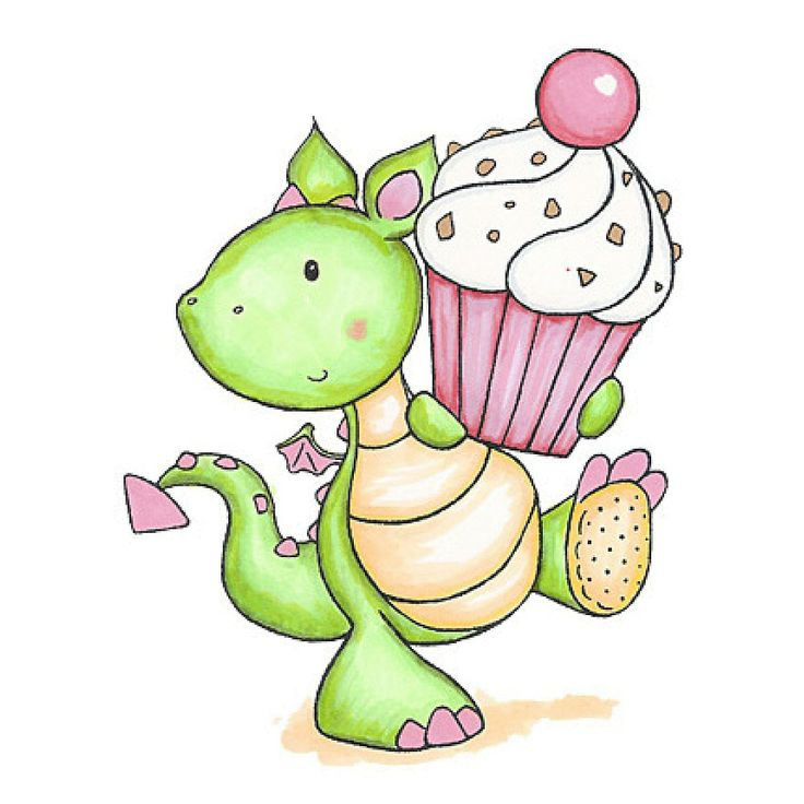 Birthday clipart dragon.  best images on