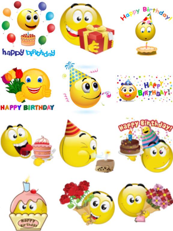 Birthday Clipart Emoji Collection Of Happy